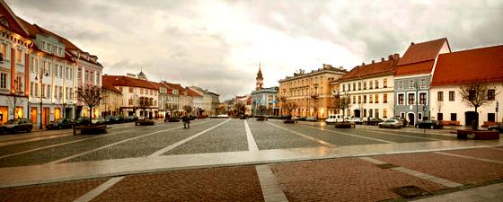 Соборная площадь в Вильнюсе